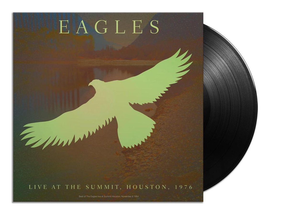 Live At The Summit Houston, 1976 (LP) - The Eagles