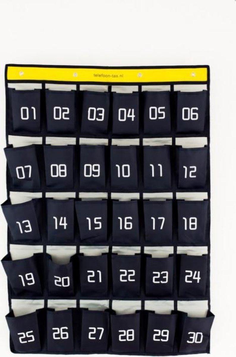 Telefoon-tas voor in de klas - 30 vakjes - Flexjuf