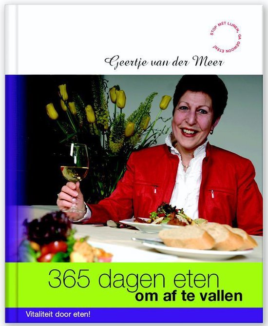 Cover van het boek '365 dagen eten om af te vallen'