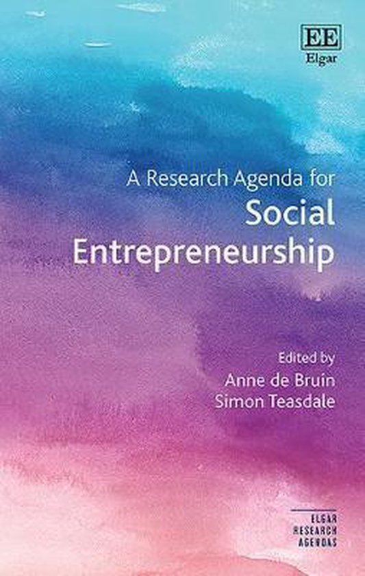A Research Agenda for Social Entrepreneurship