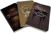 Harry Potter Notebook set - Diagon Alley - 3 stuks