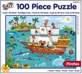 Galt - Puzzel - Piraten - 100st.