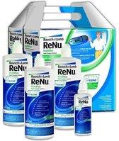 1 x Renu Multiplus Fresh Lens Comfort Multipack - 3 x 360 ml + 60 ml + 4 lenshouders - Lenzenvloeistof