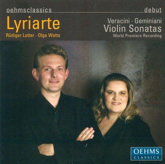 Lyriarte, Geminiani Violin Sonatas