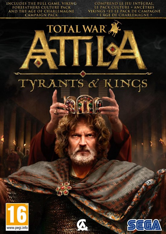 Total War Attila – Tyrants & Kings – Windows