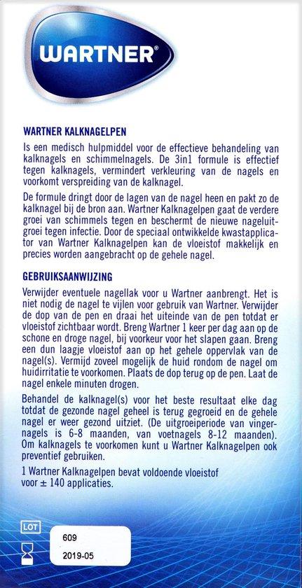 Wartner kalknagelpen - kalknagels verwijderen -  4 ml
