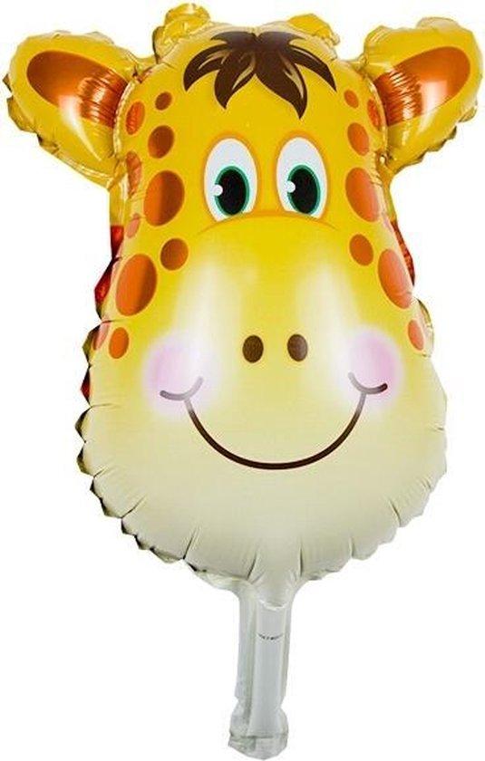 Folieballon GIRAFFE 35x20cm