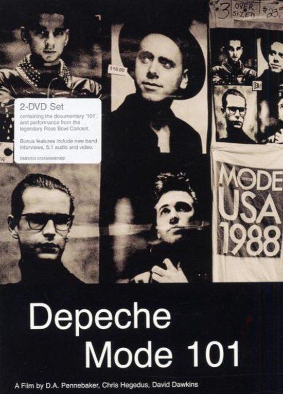 Cover van de film 'Depeche Mode - 101'