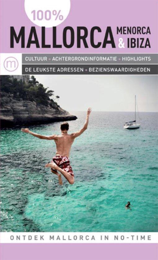 Cover van het boek '100% Mallorca' van Jytte Flamsholt Christensen