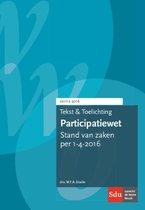 Tekst en toelichting participatiewet