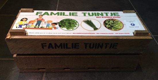 Familie Tuintje,het zelf kweken van je groenten en kruiden