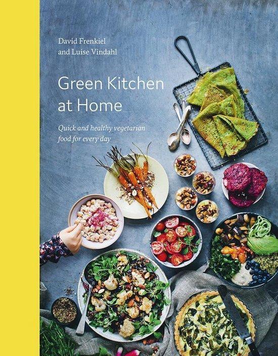 Boek cover Green Kitchen at Home van David Frenkiel (Onbekend)