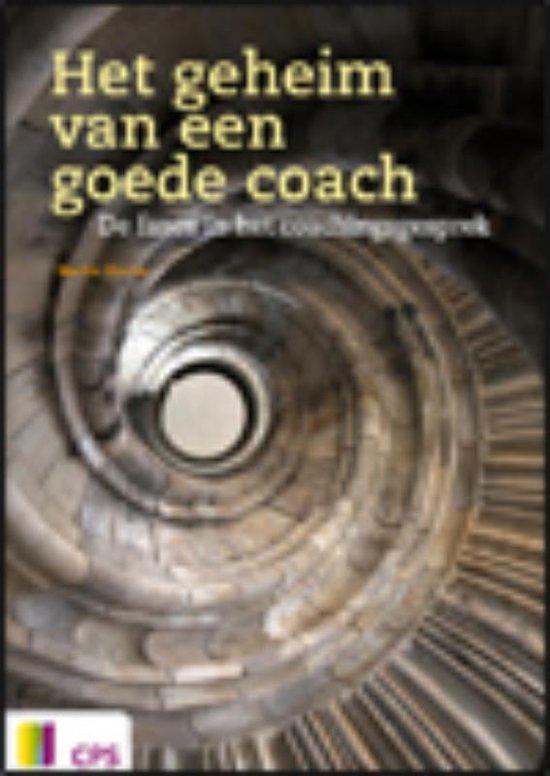 Boek cover Het geheim van een goede coach van Martie Slooter (Paperback)