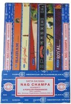 ProYoga - Wierook Satya Nag Champa collectie - Yin Yoga - Wierookstokjes - Wierook