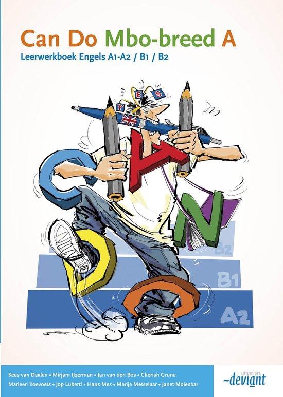 Can Do - mbo-breed Engels A1/B2 - Leerwerkboek deel A - Kees van Daalen   Fthsonline.com