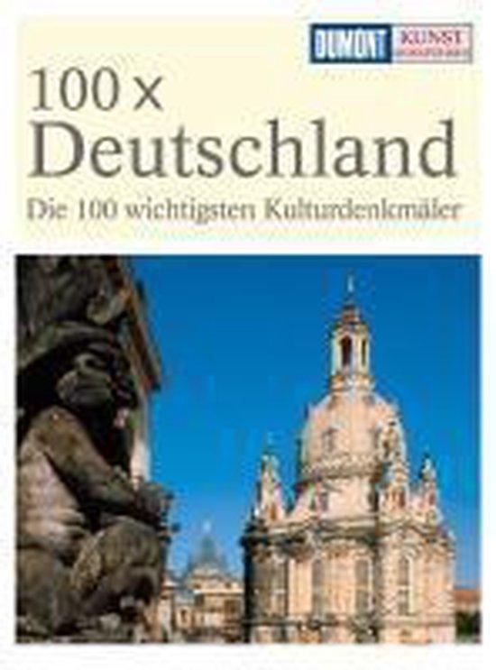 Cover van het boek '100 x Deutschland KRF' van J.J. Dumont