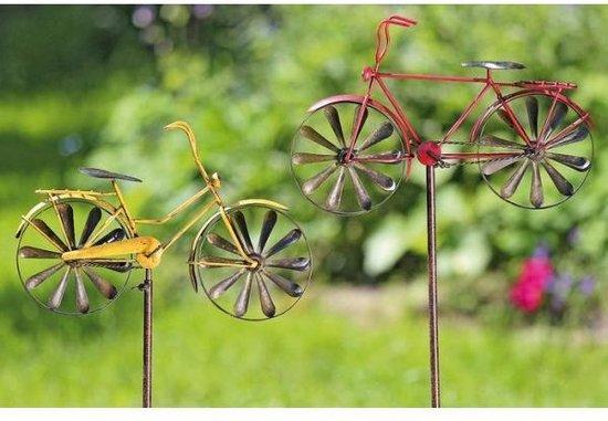 Windmolen fietsen op pin - set van 2 stuks