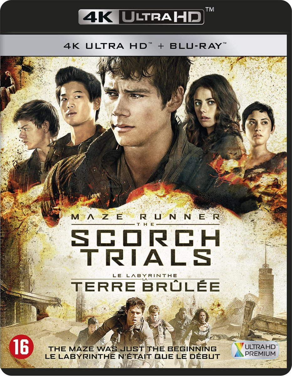 Maze Runner: The Scorch Trials (4K Ultra HD Blu-ray)-