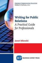 Writing For Public Relations