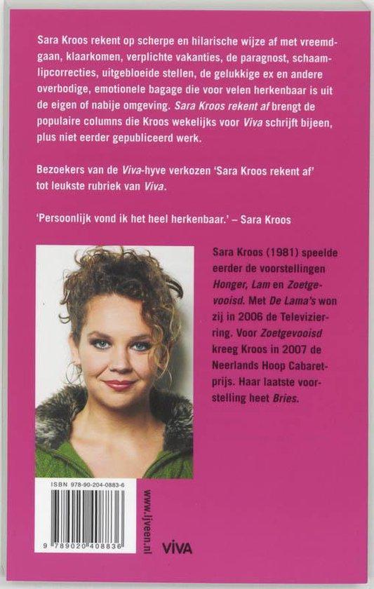Sara Kroos Rekent Af - Sara Kroos |