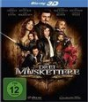 The Three Musketeers (2011) (3D Blu-ray)