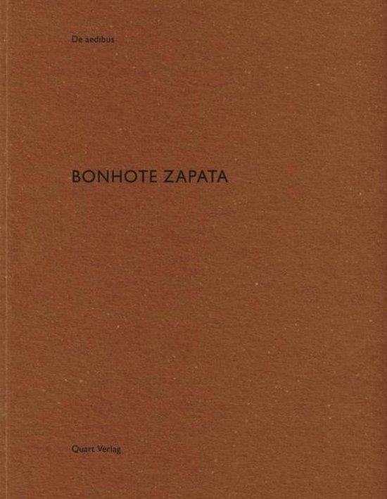Boek cover Bonhote Zapata van Heinz Wirz (Paperback)