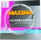 Maxima Fluocarbon 60 lb - Onderlijnmateriaal - 0.72 mm - 27 kg - 25 m