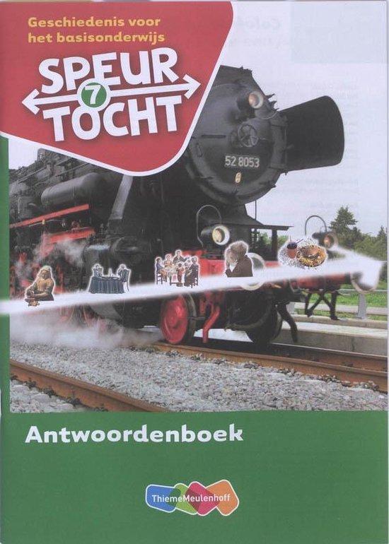 Boek cover Speurtocht Groep 7 Antwoordenboek van Beps Braams (Paperback)