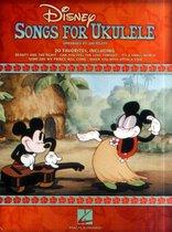 Boek cover Disney Songs for Ukulele van Hal Leonard Corp. (Hardcover)