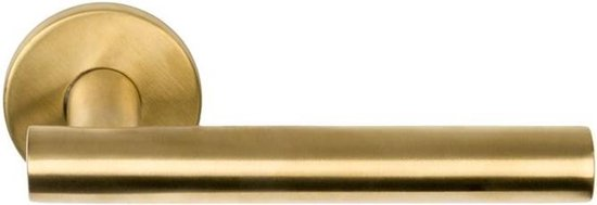 Formani BASIC LBVII-19 deurkruk op rozet - PVD mat goud - 1501D150IMXX0