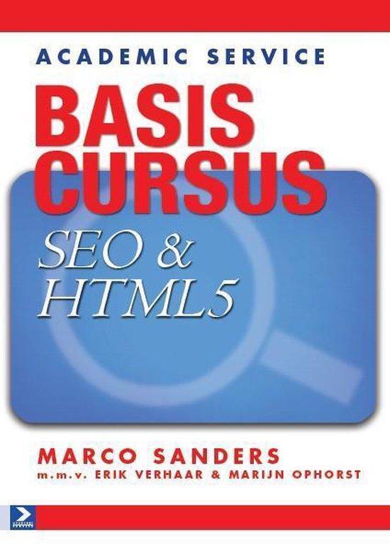 Basiscursus SEO & html5 - Marco Sanders  