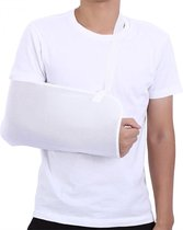 Universele Arm Sling Mitella Band - Armsling Schouder Band - Arm Draagband - Heren/Dames/Kind - Wit