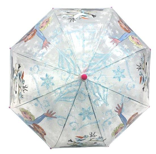 Frozen kinderparaplu - Handmatig - Diameter 96 cm - koepelvormige paraplu - Disney Frozen