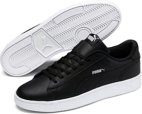PUMA Court Breaker Derby L Sneakers Unisex - Puma Black / Silver / Puma White - Maat 44