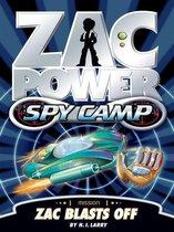 Zac Power Spy Camp: Zac Blasts Off