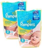 Pampers Premium Protection Luiers - Maat 2 56 stuks