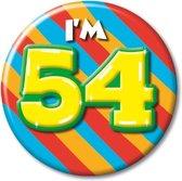 Button 70 jaar (55 mm)