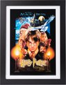 Harry Potter and the Sorcerer's Stone poster ingelijst 30x40cm. Aanbieding