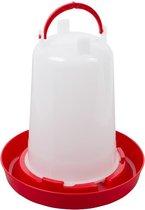 Bajonetdrinker 6 liter rood