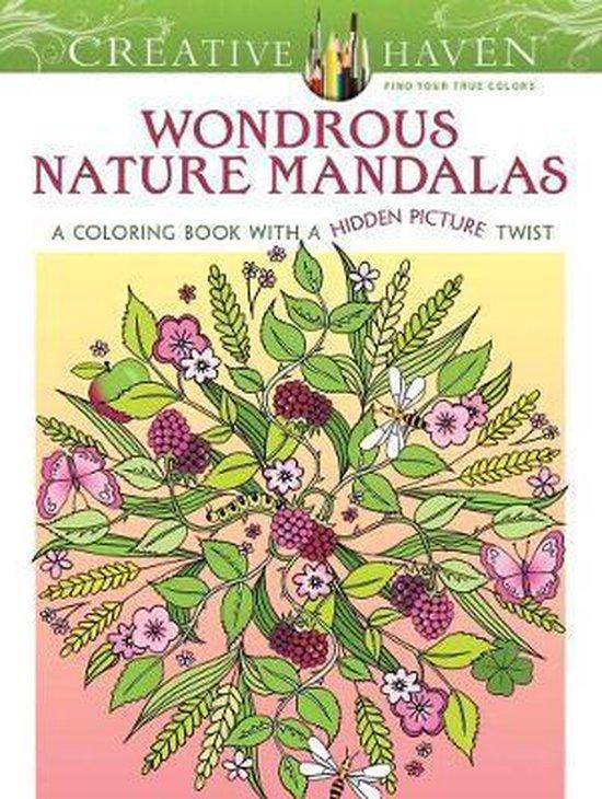 Creative Haven Wondrous Nature Mandalas