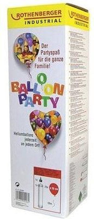 Rothenberger Balloon Party, heliumgas 930ml, 110Bar