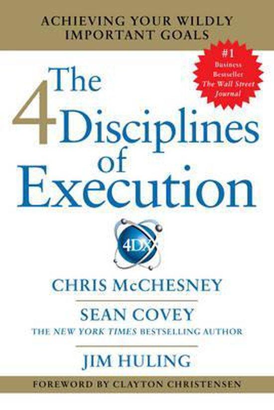 Boek cover 4 Disciplines of Execution van Sean Covey (Paperback)