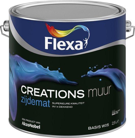 Flexa Creations Muurverf Zijdemat 3041 Dazzling Night 1 Ltr