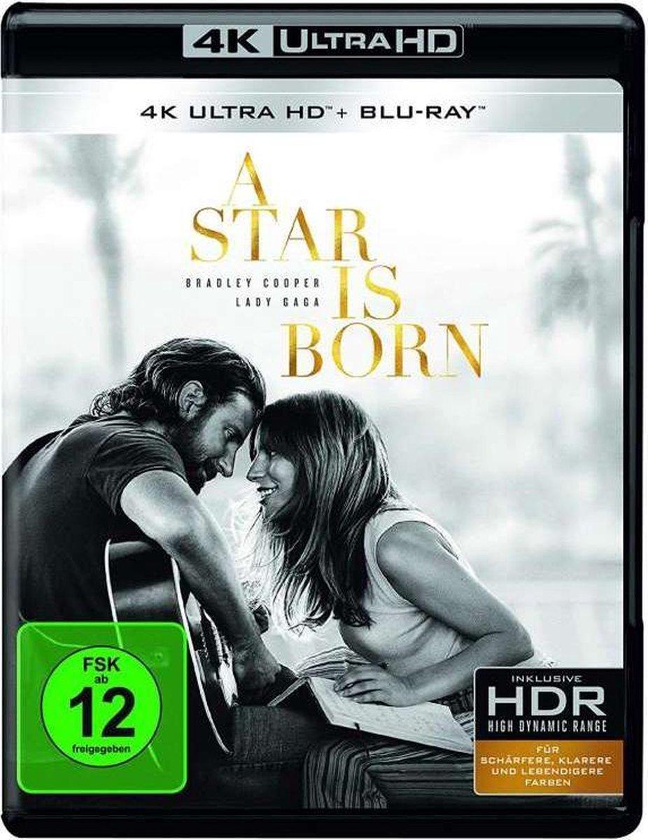 A Star Is Born (2018) (Ultra HD Blu-ray & Blu-ray) (Import)-