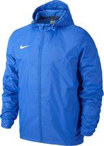 Nike Sideline Rain Jacket Junior Regenjas - Maat 152  - Unisex - blauw Maat L - 152/158