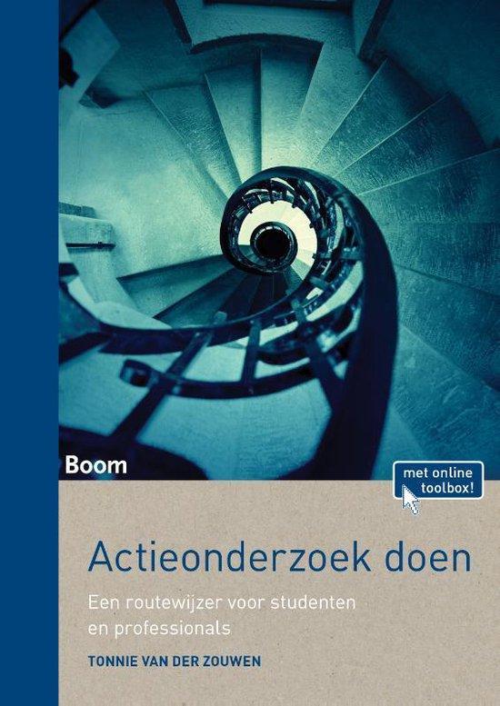 Boek cover Actieonderzoek doen van Tonnie van der Zouwen (Paperback)
