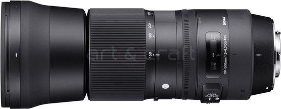 Sigma 150-600mm f/5-6.3 DG OS HSM C Nikon F + TC-1401 1.4x