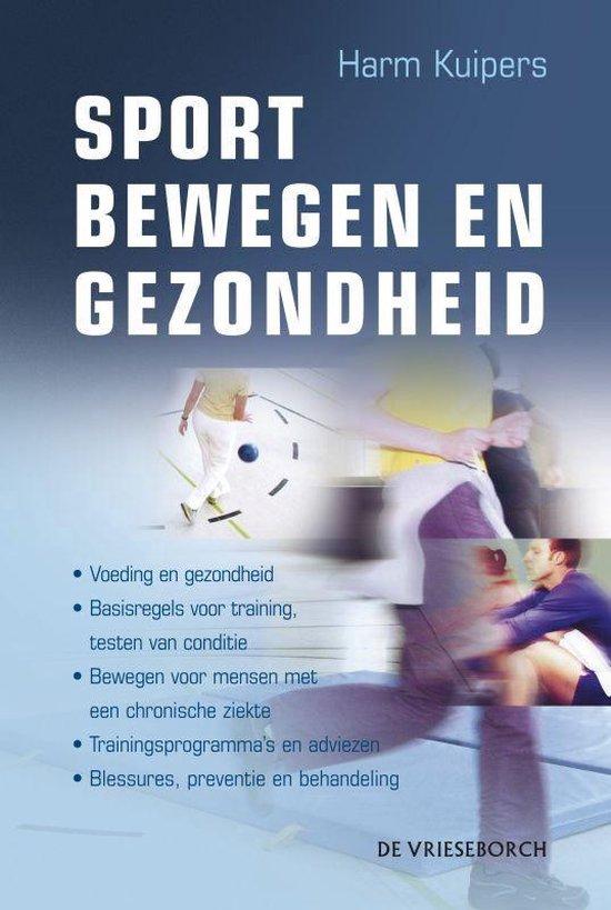 Cover van het boek 'Sport, bewegen en gezondheid'