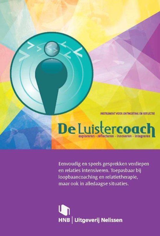 Cover van het boek 'De luistercoach + Boekje' van Michiel de Ronde