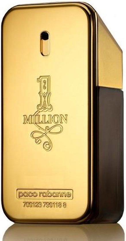 MULTI BUNDEL 2 stuks Paco Rabanne One Million Eau De Toilette Spray 50ml